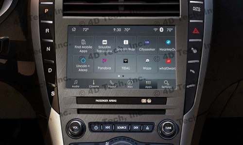 2017 2018 Lincoln MKX Navigation Kit for SYNC 3 - Installed View
