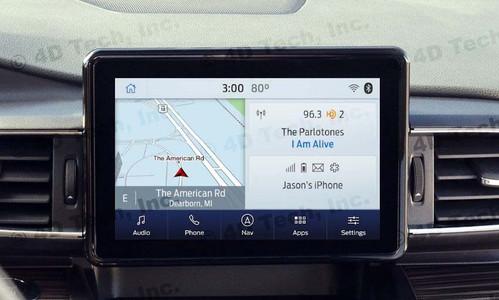 2020 2021 Ford Explorer Navigation Kit for SYNC 3
