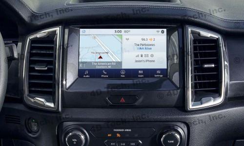 2020 2021 Ford Ranger Navigation Kit for SYNC 3 - Installed View