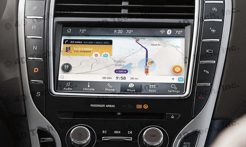 2020 Lincoln Nautilus Navigation Kit for SYNC 3 - Installed View