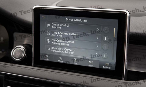 2020 Lincoln Corsair Navigation Kit for SYNC 3 - Installed View