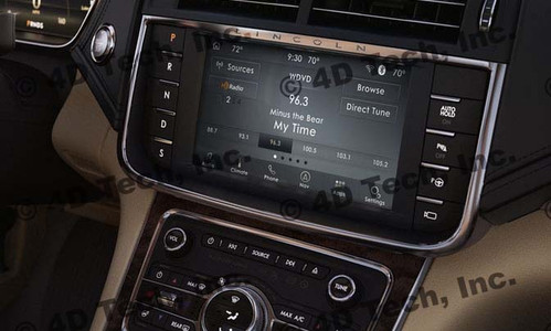 2020 Lincoln Continental Navigation Kit for SYNC 3 - Installed View