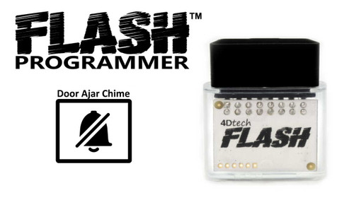 Flash™ Flash Door Chime Eliminator - Programmer