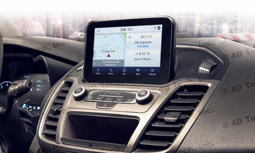 2020 Ford Transit Connect Navigation Kit for SYNC 3 - Installed View