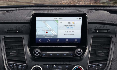 2020 | 2021 Ford Transit Navigation Kit for SYNC 3 - Installed View