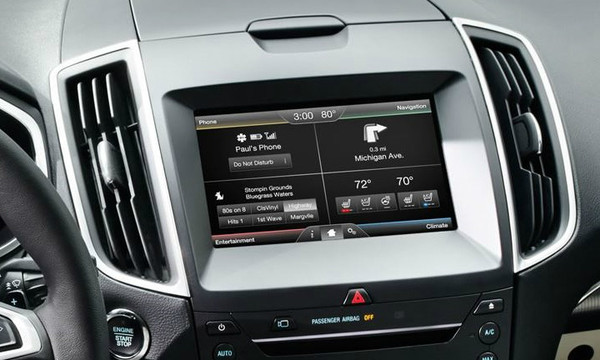 15' Ford Edge Navigation Upgrade for MyFord Touch