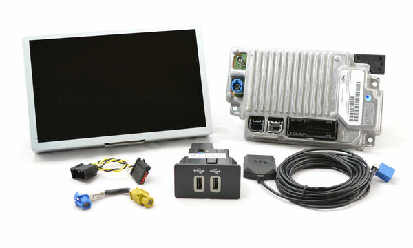 2015 Ford F150 SYNC 3 Retrofit Kit for MyFord Touch Vehicles - Destination Screen