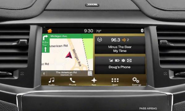 16 Lincoln MKS Navigation Upgrade For SYNC 3