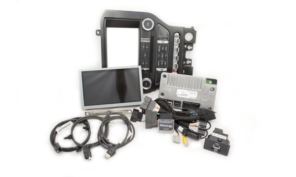 "2015 Ford Mustang SYNC 2 Retrofit Kit for 4"" SYNC Equipped Vehicles - Kit Contents"