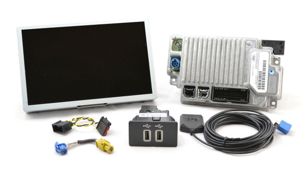 2015 Lincoln MKS SYNC 3 Retrofit Kit for MyLincoln Touch Vehicles - Kit Contents