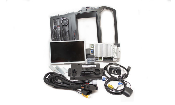 2019 Ford Explorer SYNC 3 Retrofit Kit for MyFord Vehicles - Kit Contents