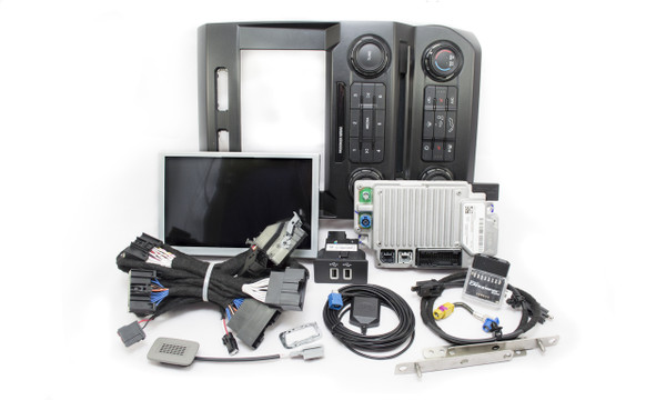 """2019 2020 Ford F150 SYNC 3 Retrofit Kit for 4""""  w/o SYNC Equipped Vehicles - Kit Contents"""
