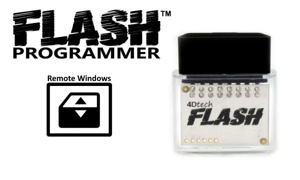 Flash Remote Window Control - Programmer