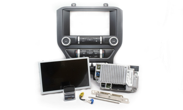 2019 2020 Ford Mustang SYNC 3 Retrofit Kit for SYNC Vehicles - Kit Contents