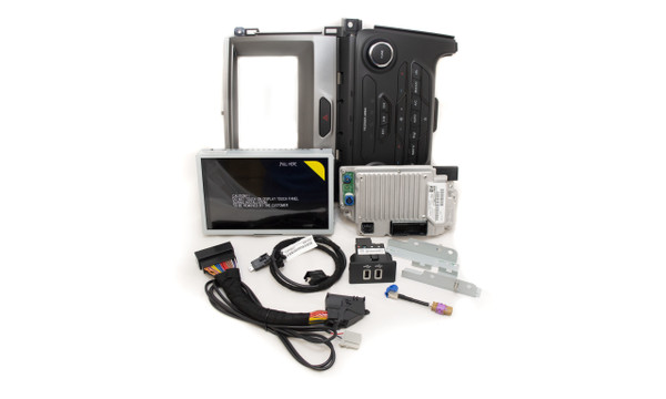 """2019 2020 2021 Ford Ranger SYNC 3 Retrofit Kit for 4"""" SYNC Equipped Vehicles - Kit Contents"""