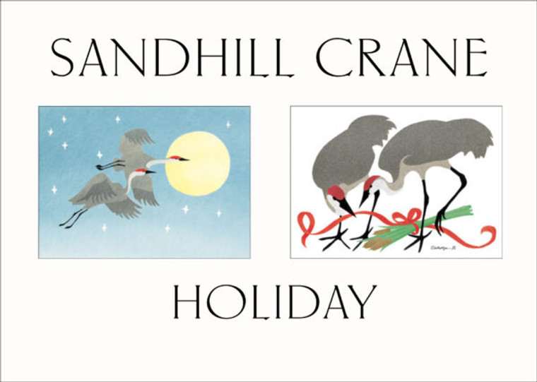 Sandhill Crane Holiday Cards (10 Pack)