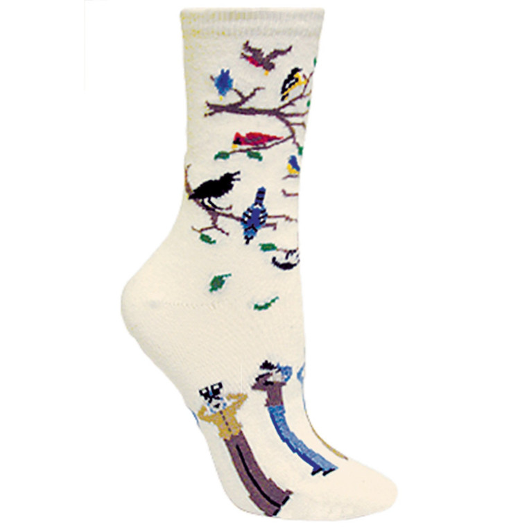 Birdwatchers Socks Natural