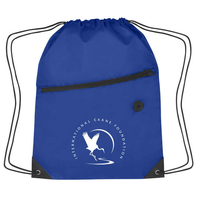 ICF Logo Blue Backpack