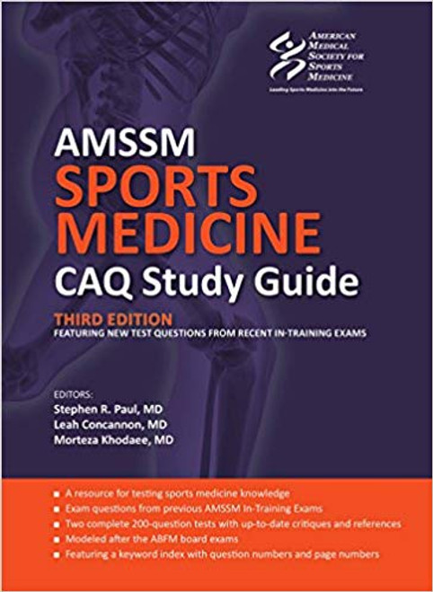 AMMSM Sports Medicine CAQ Study Guide (3rd Edition)