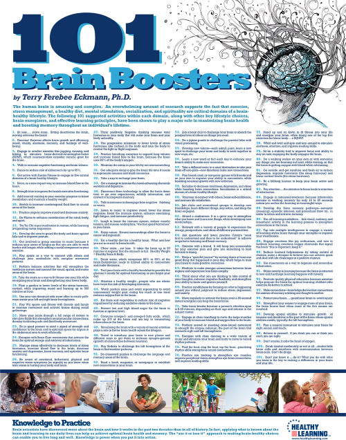 101 Brain Boosters Poster
