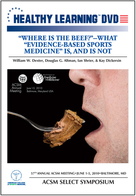 """""""Where is the Beef?"""" – What """"Evidence-Based Sports Medicine"""" Is, And Is Not"""