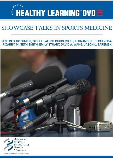 Showcase Talks in Sports Medicine