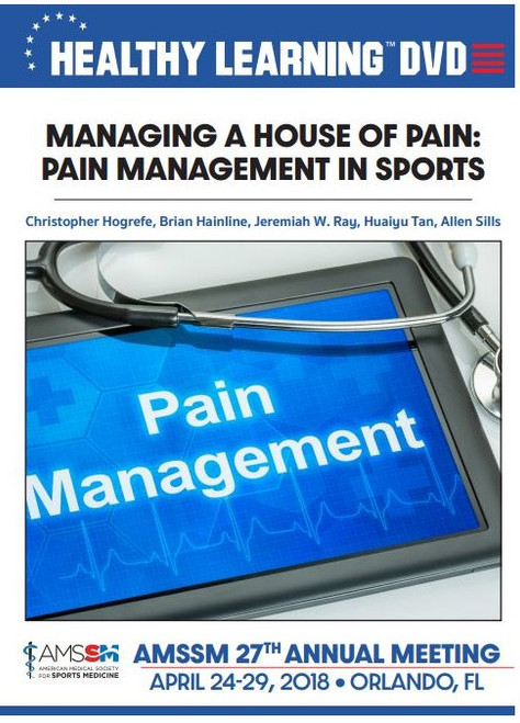 MANAGING A HOUSE OF PAIN: PAIN MANAGEMENT IN SPORTS