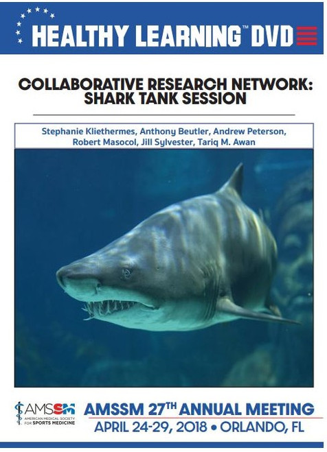 COLLABORATIVE RESEARCH NETWORK: SHARK TANK SESSION