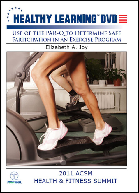 Use of the Par-Q to Determine Safe Participation in an Exercise Program