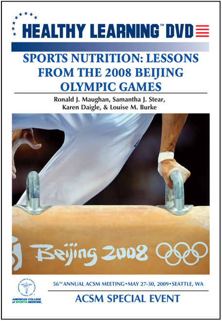 Sports Nutrition: Lessons from the Beijing Olympic Games