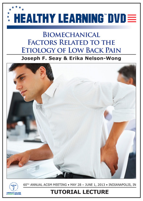 Biomechanical Factors Related to the Etiology of Low Back Pain