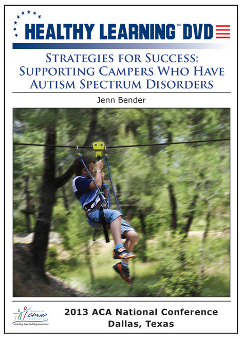 Strategies for Success: Supporting Campers Who Have Autism Spectrum Disorders