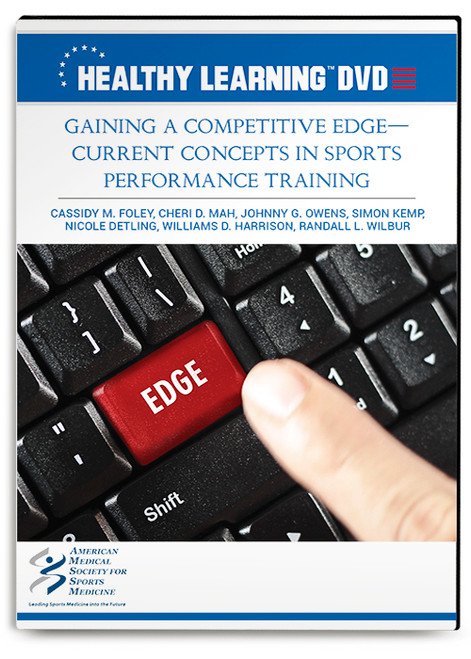 Gaining a Competitive Edge-Current Concepts in Sports Performance Training