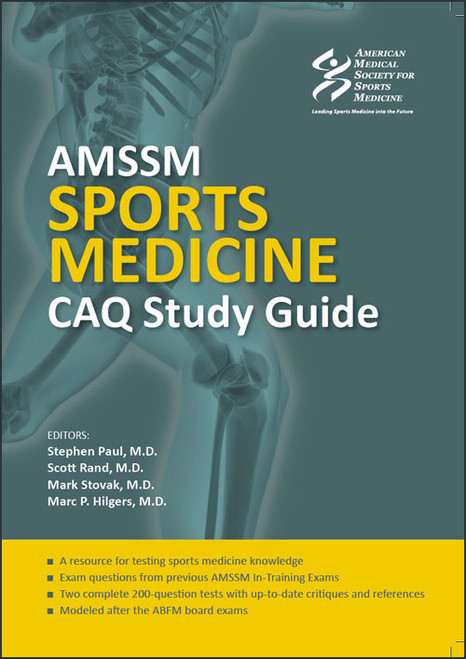 AMSSM Sports Medicine CAQ Study Guide (First Edition)-Epub