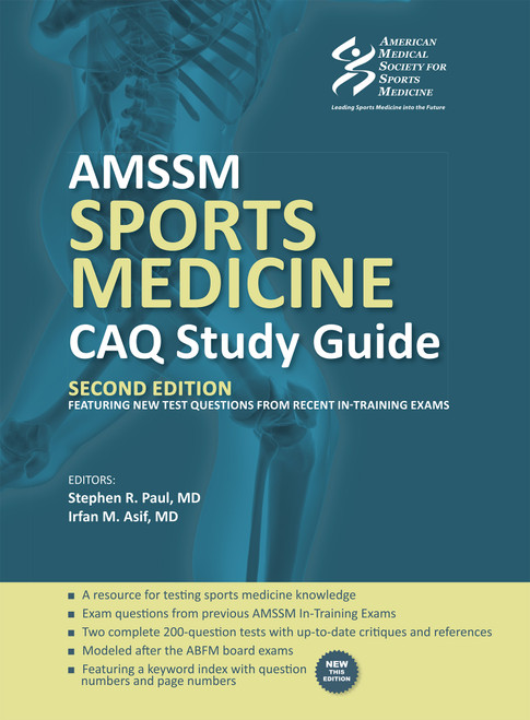 AMSSM Sports Medicine CAQ Study Guide (Second Edition)-Epub