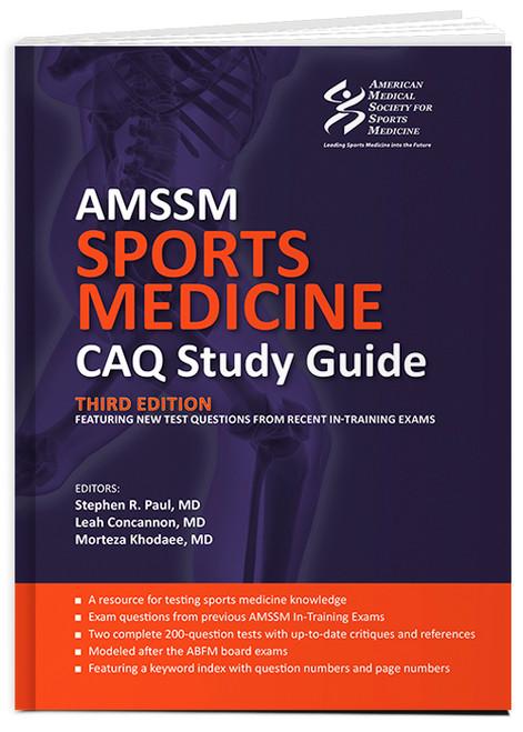 AMMSM Sports Medicine CAQ Study Guide (3rd Edition)-Epub