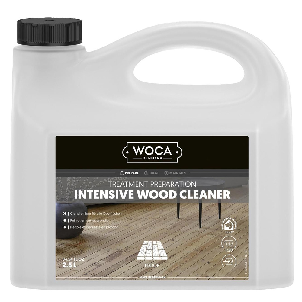 WOCA Intensive Wood Cleaner for unfinished wood surfaces