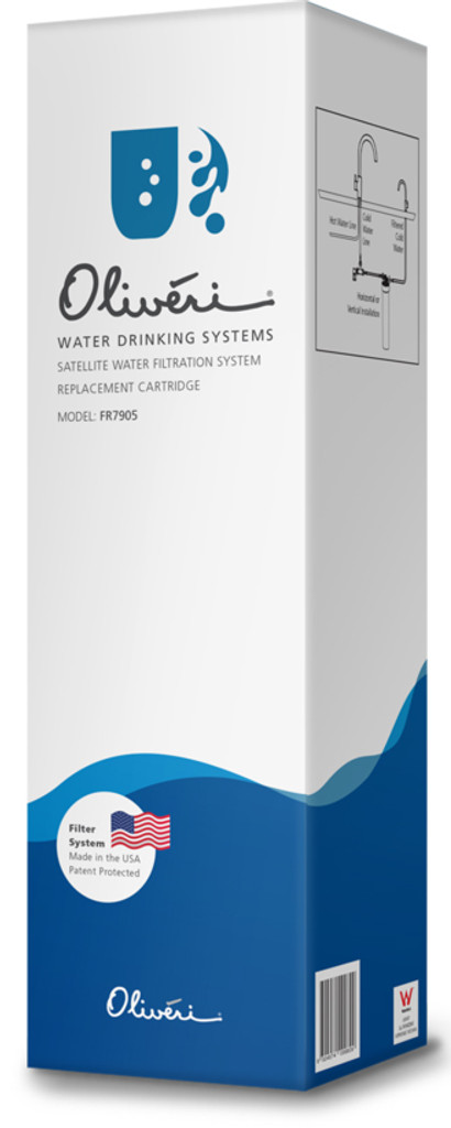 Satellite Water Filtration System Replacement Cartridge