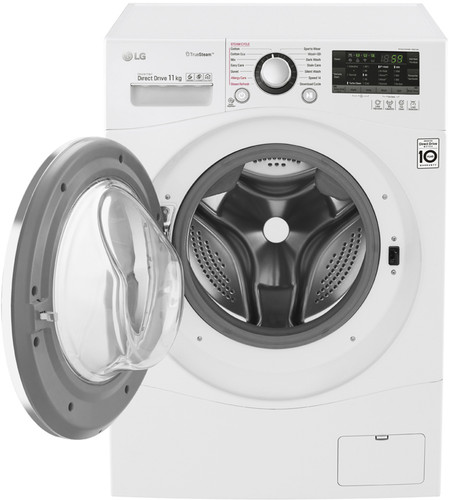 11kg Front Load Washer with TrueSteam®