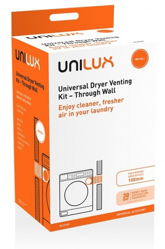 UNIVERSAL DRYER VENT KIT, THROUGH WALL