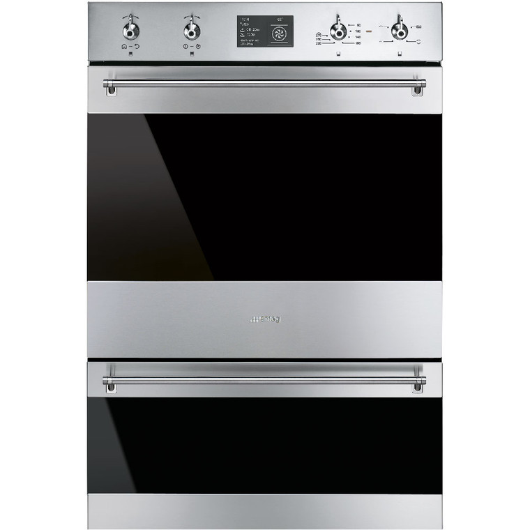 DOSPA6395X - 60cm Classic Thermoseal Double Oven, Pyrolytic Cleaning - Stainless Steel