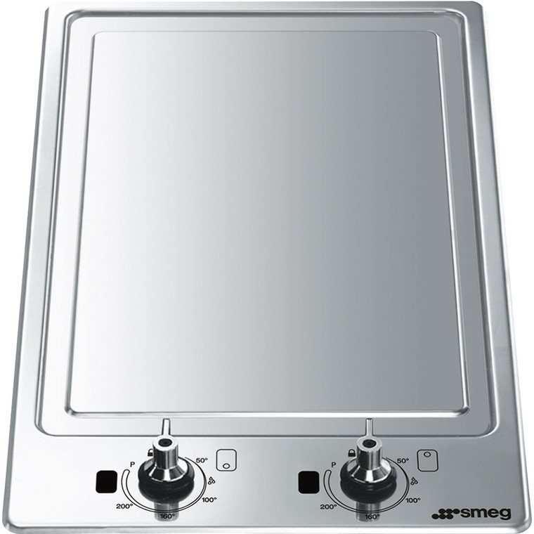 PGF30T - 30cm Classic Domino Induction Teppanyaki Cooktop - Stainless Steel