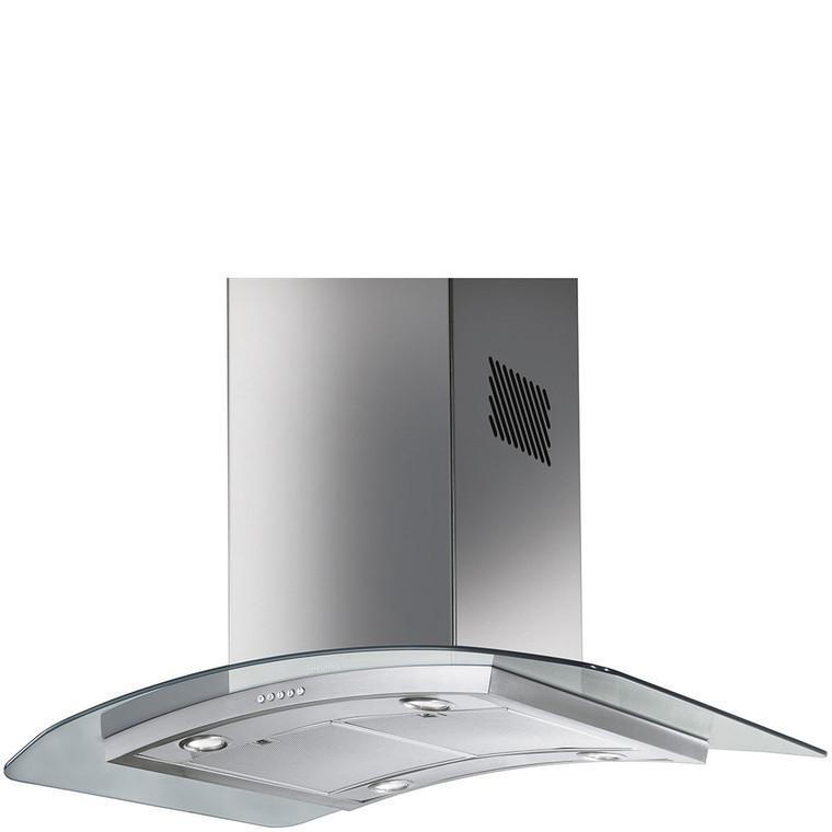 SHIG910X - 90cm Classic Island Rangehood - Stainless Steel / Glass Canopy