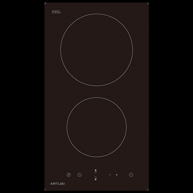 CACC30 - 30cm Ceramic Domino 2 Zone Cooktop - Black