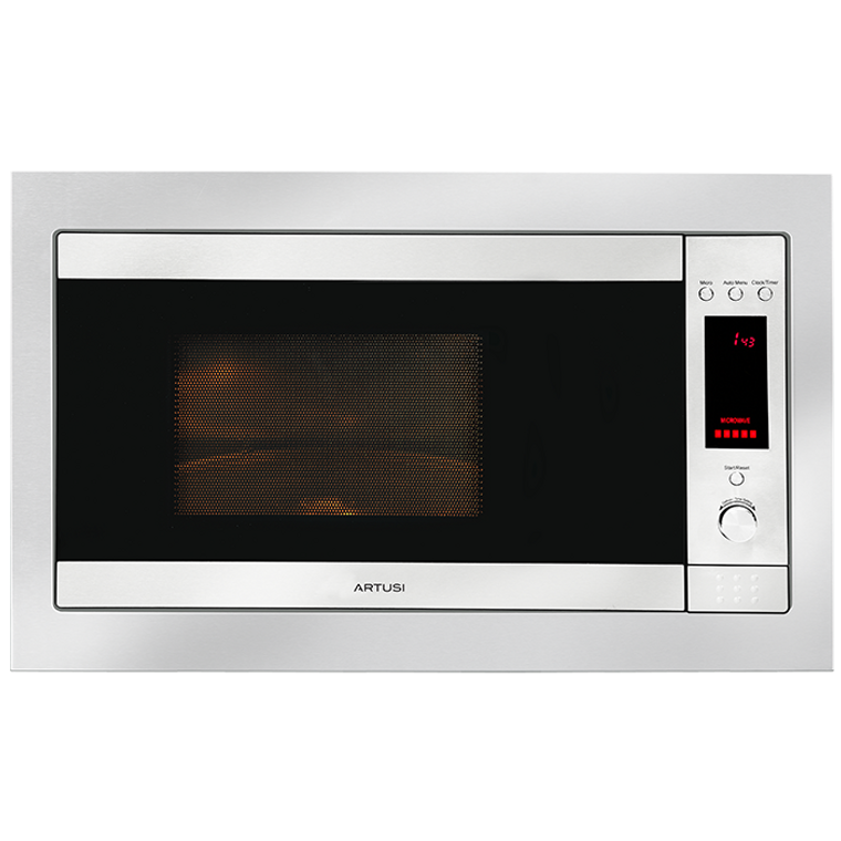 AMO31TK - 60cm Built-in 31L Microwave Oven + Trim Kit - Stainless Steel
