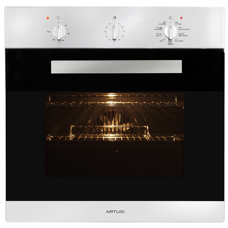 AO650X - 60cm Built-in Multifunction Oven - Stainless Steel