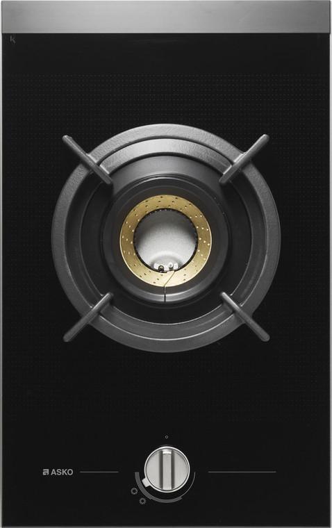 HG1365GD - 33cm Pro Series Domino Wok Burner Gas Cooktop - Black Ceramic