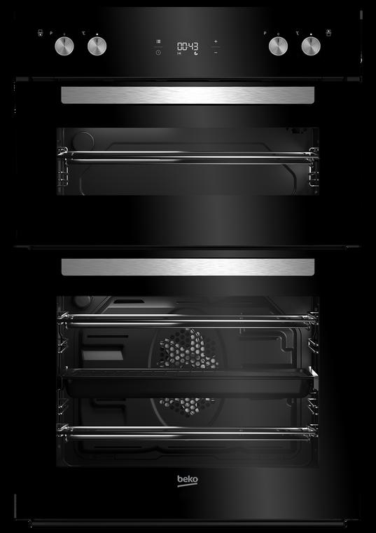 BBO60S1DB - 55cm Multifunction Double Oven - Stainless Steel / Black