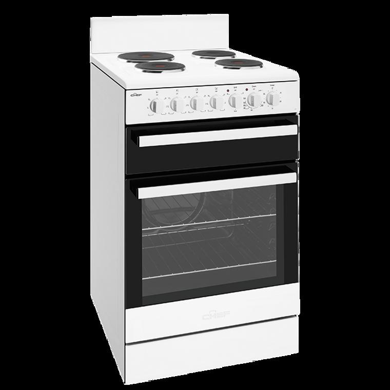 CFE535WB - 54cm Freestanding Cooker - White