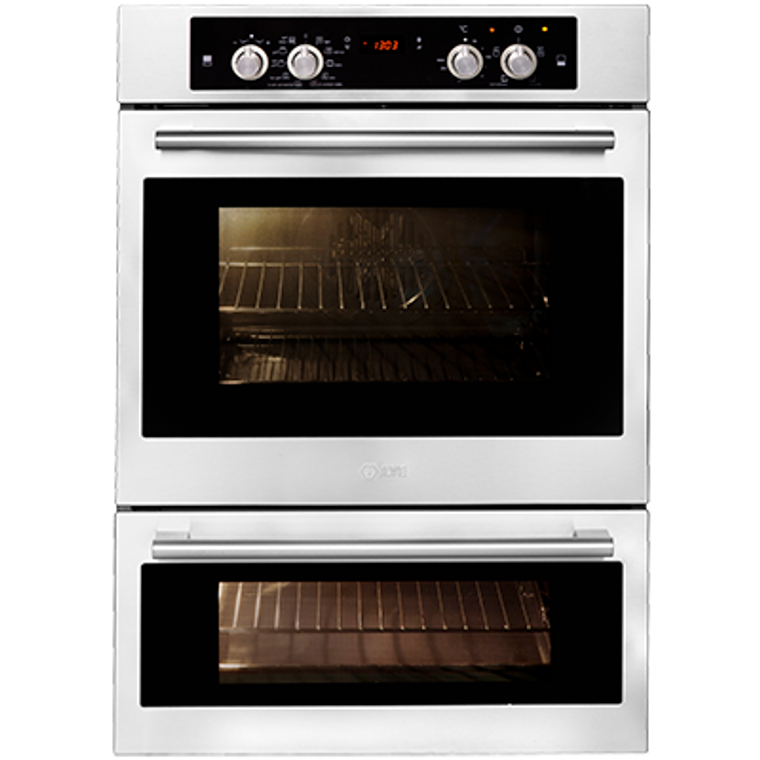 200SPYKMPI - 60cm Built-in Double Oven, Pyrolytic Cleaning - Stainless Steel